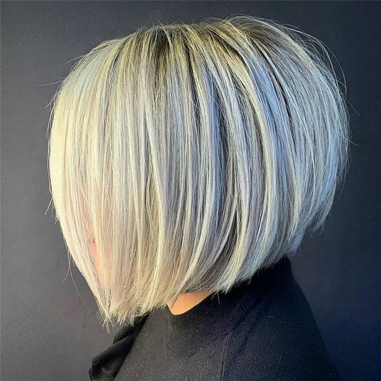 Incredible Short Inverted Bob Haircuts to Get You Inspired in 2021 05