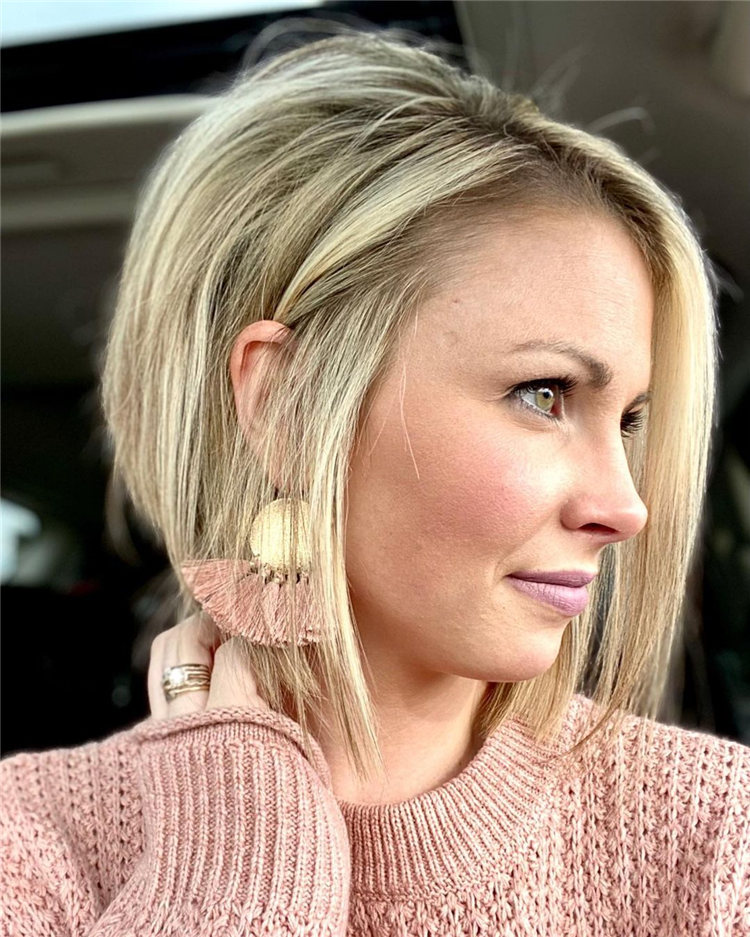 Incredible Short Inverted Bob Haircuts to Get You Inspired in 2021 07