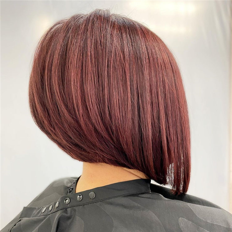 Incredible Short Inverted Bob Haircuts to Get You Inspired in 2021 15