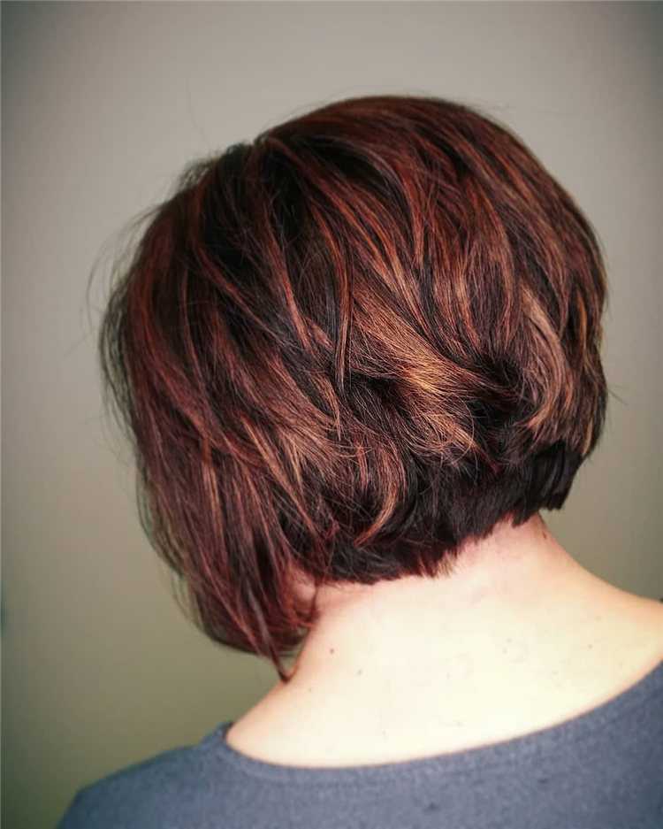 Incredible Short Inverted Bob Haircuts to Get You Inspired in 2021 16