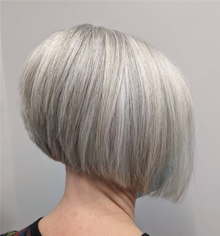 Incredible Short Inverted Bob Haircuts to Get You Inspired in 2021 18