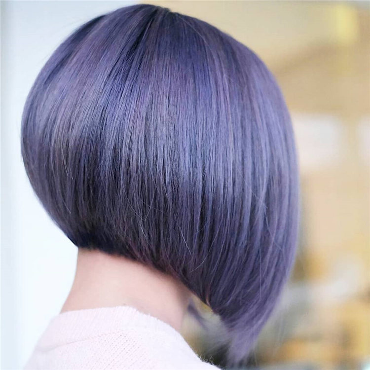 Incredible Short Inverted Bob Haircuts to Get You Inspired in 2021 21