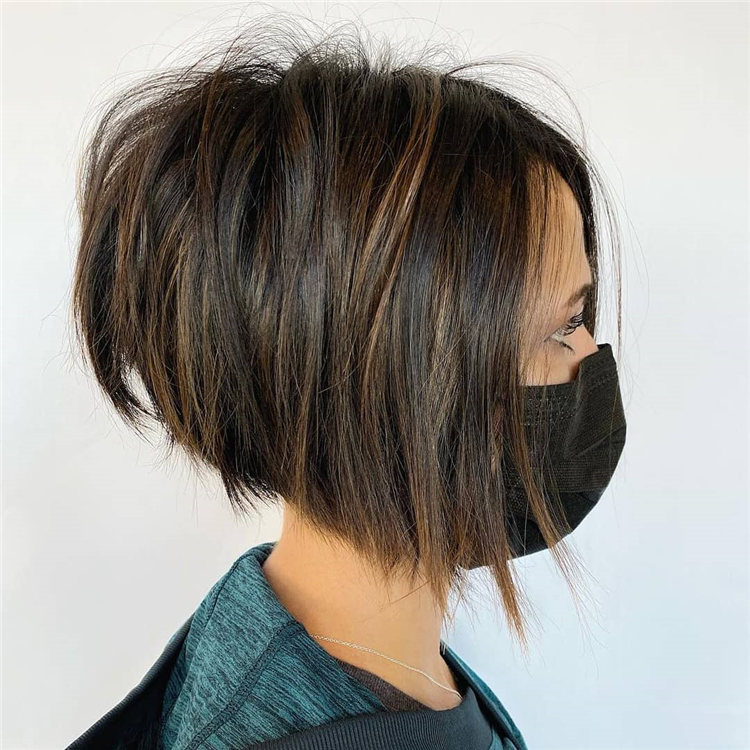 Incredible Short Inverted Bob Haircuts to Get You Inspired in 2021 22