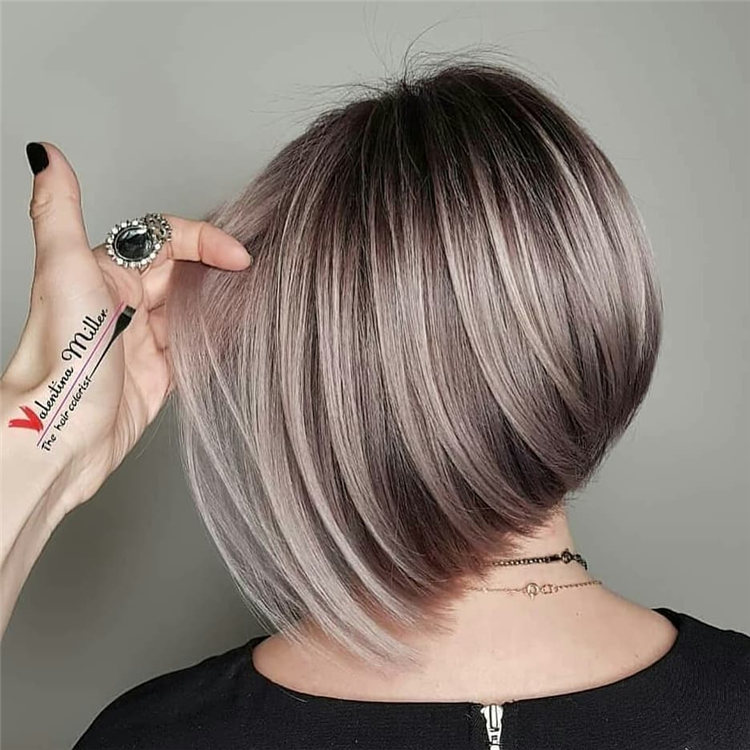 Incredible Short Inverted Bob Haircuts to Get You Inspired in 2021 23