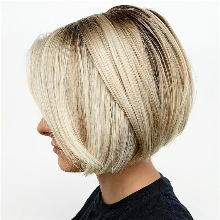 Incredible Short Inverted Bob Haircuts to Get You Inspired in 2021 25