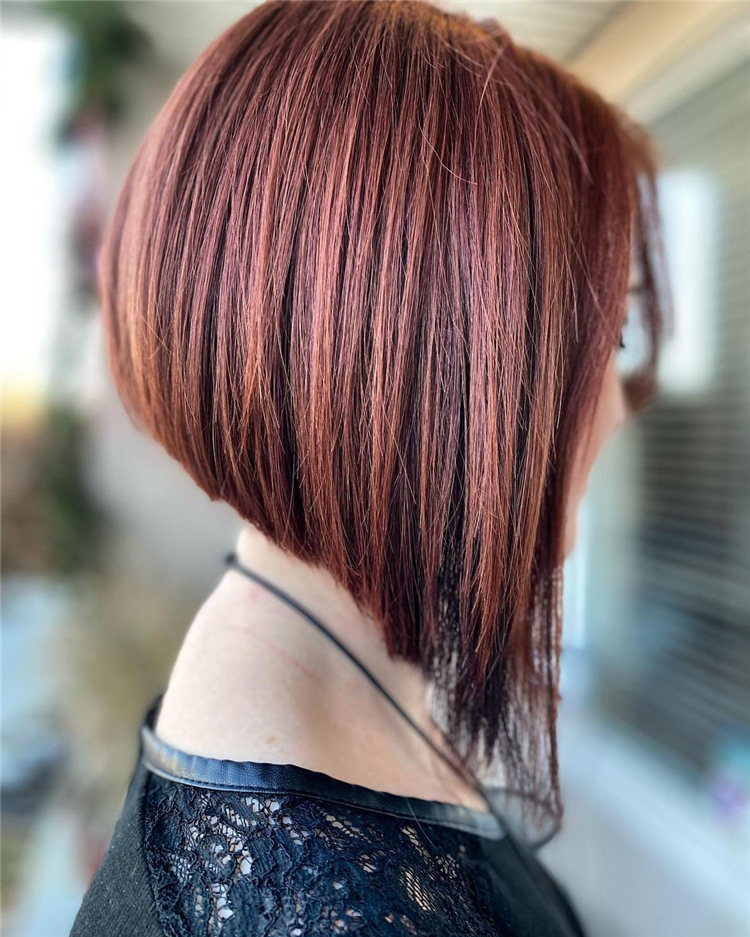 Incredible Short Inverted Bob Haircuts to Get You Inspired in 2021 29
