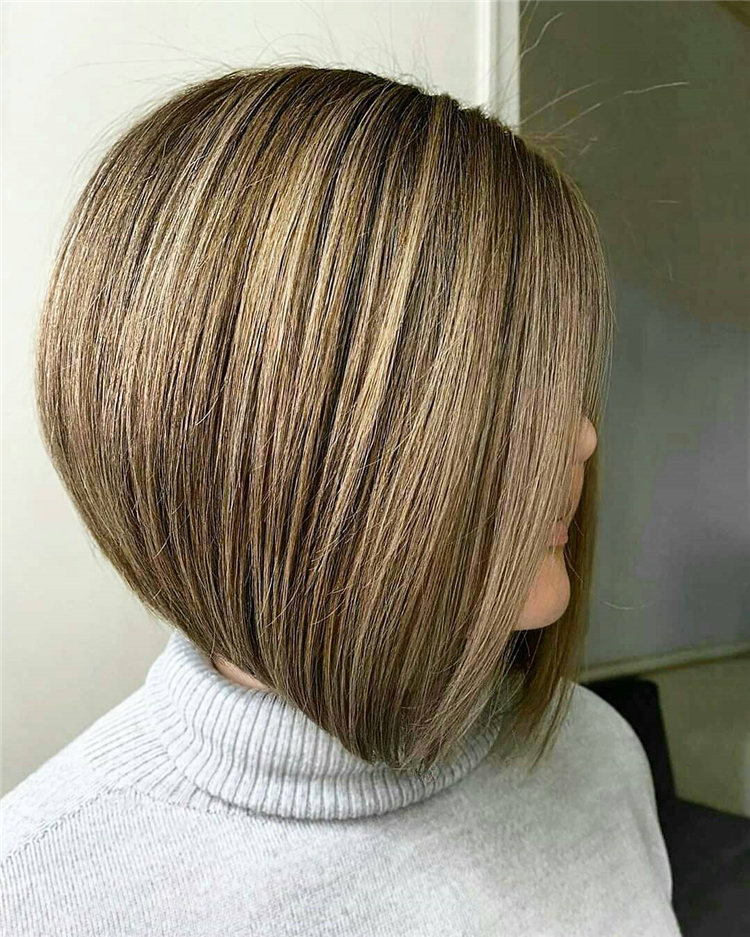 Incredible Short Inverted Bob Haircuts to Get You Inspired in 2021 31