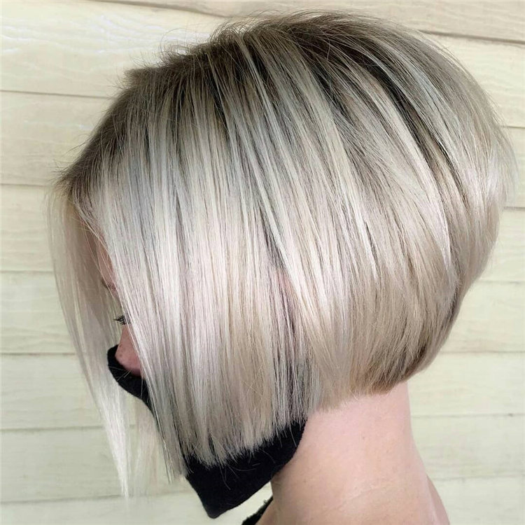 Incredible Short Inverted Bob Haircuts to Get You Inspired in 2021 35