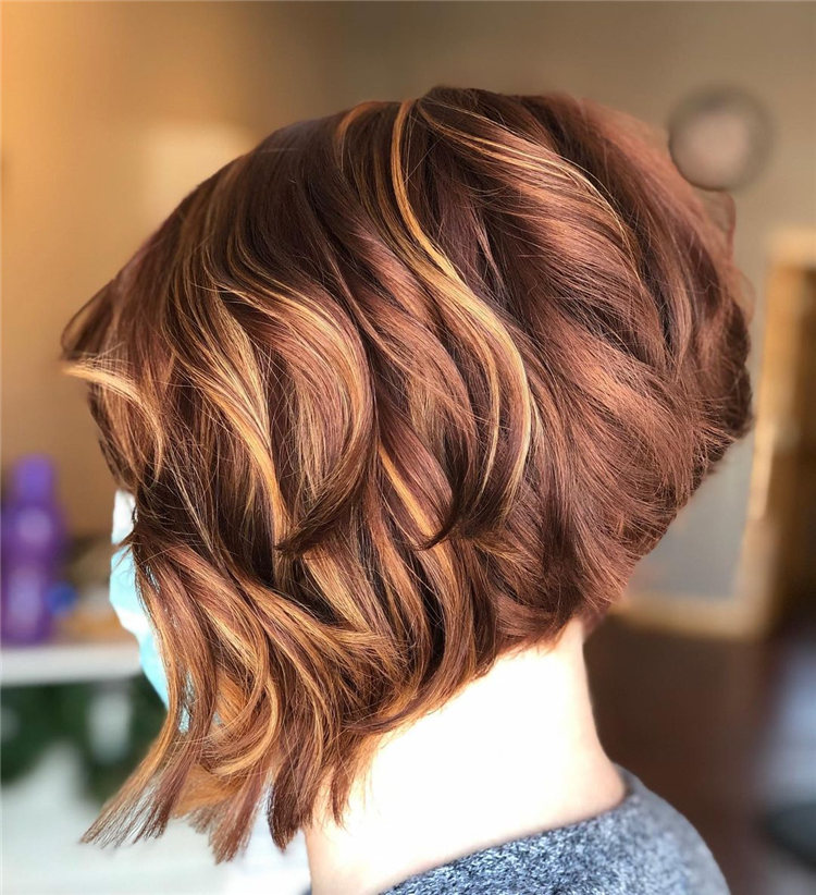 Incredible Short Inverted Bob Haircuts to Get You Inspired in 2021 38