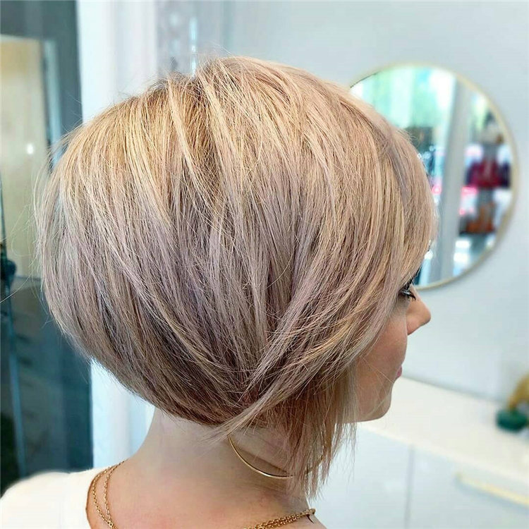 Incredible Short Inverted Bob Haircuts to Get You Inspired in 2021 39