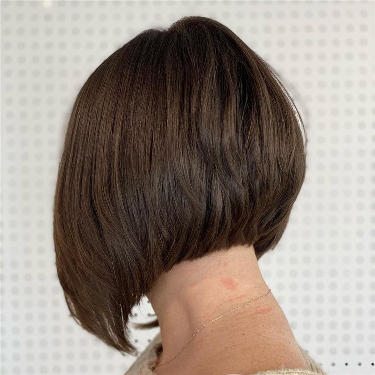 Incredible Short Inverted Bob Haircuts to Get You Inspired in 2021 41