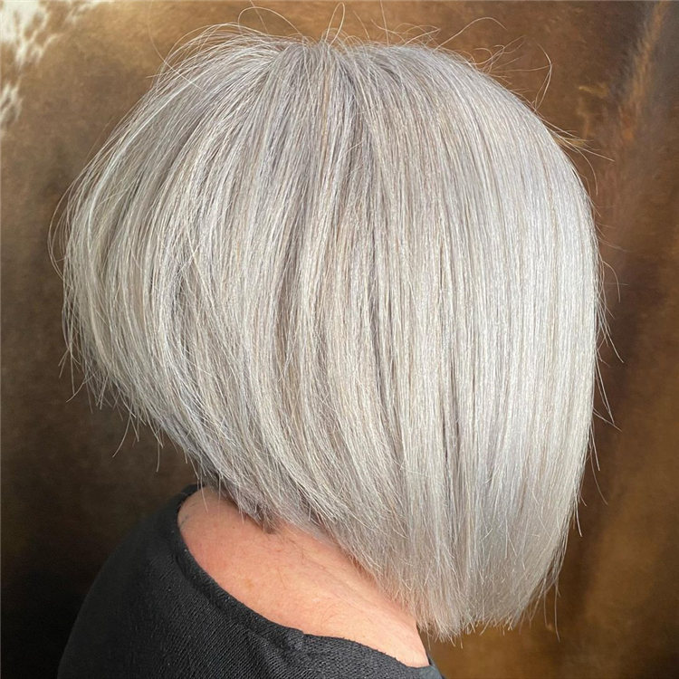 Incredible Short Inverted Bob Haircuts to Get You Inspired in 2021 48
