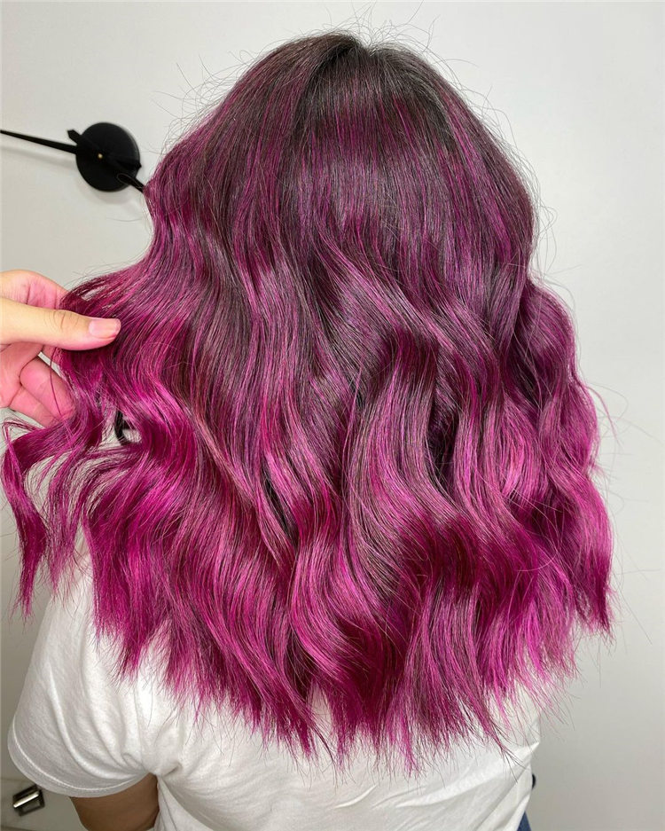 Medium Pink Waves
