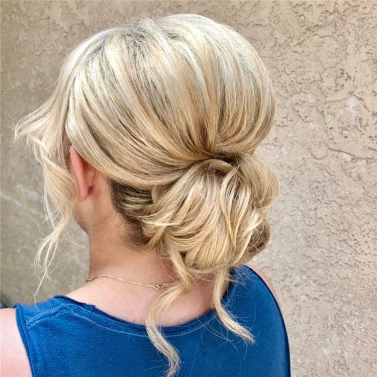 Blonde Wedding Hairstyle