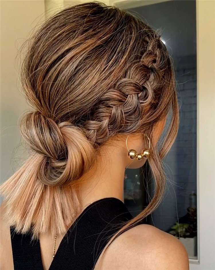 Braid Knot Updo