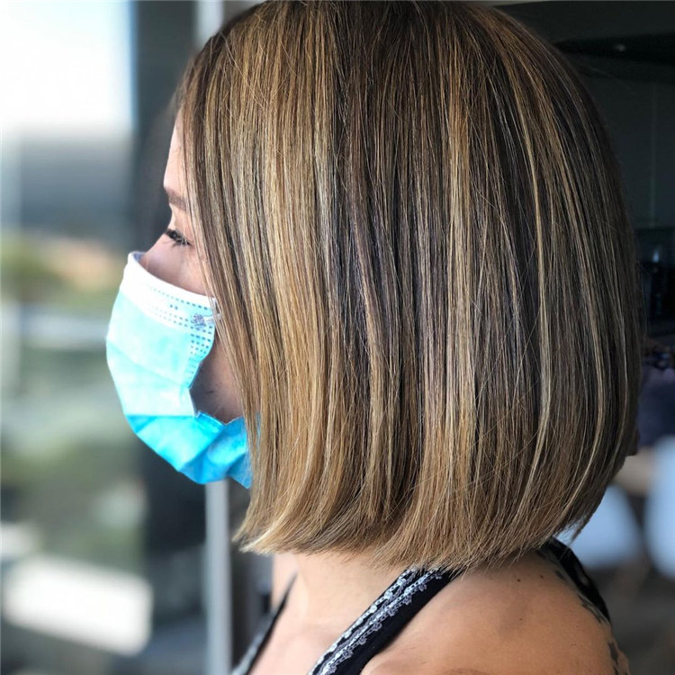 Cool Bob Haircut With Layers That You Must Try in 2021 23