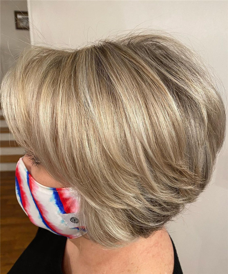 Cool Bob Haircut With Layers That You Must Try in 2021 24