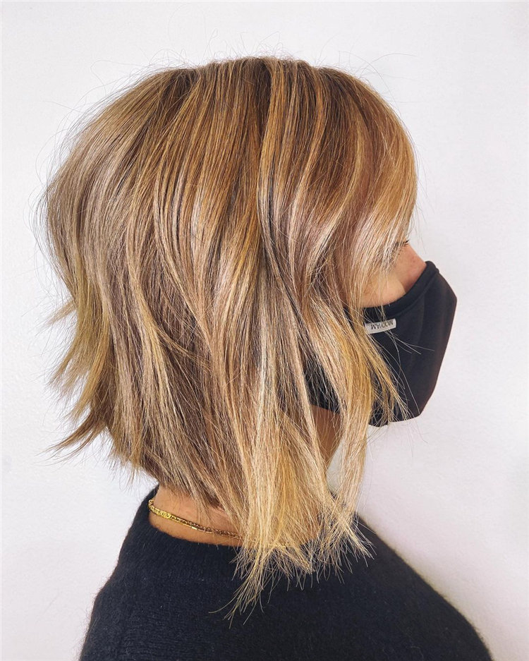 Cool Bob Haircut With Layers That You Must Try in 2021 32