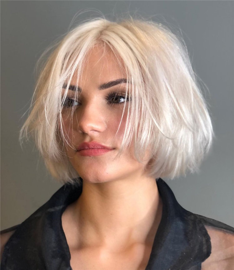 Cool Bob Haircut With Layers That You Must Try in 2021 34