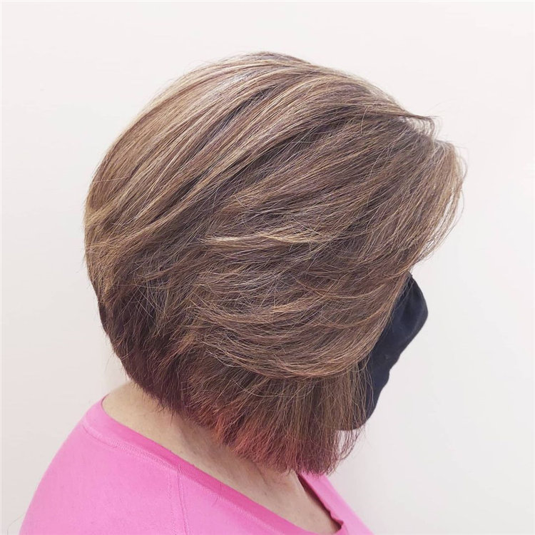 Cool Bob Haircut With Layers That You Must Try in 2021 51