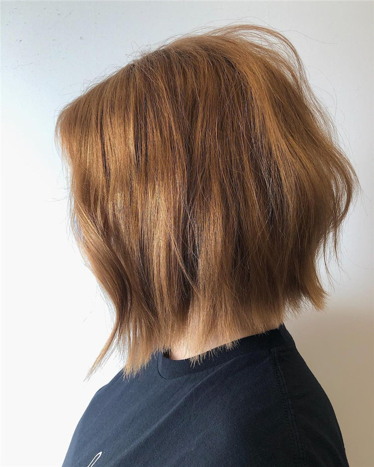 Cool Bob Haircut With Layers That You Must Try in 2021 56