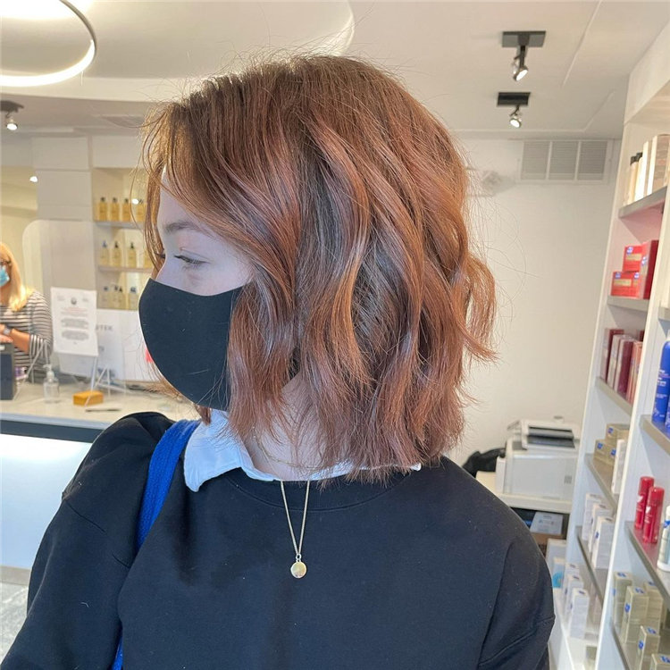 Cool Bob Haircut With Layers That You Must Try in 2021 57