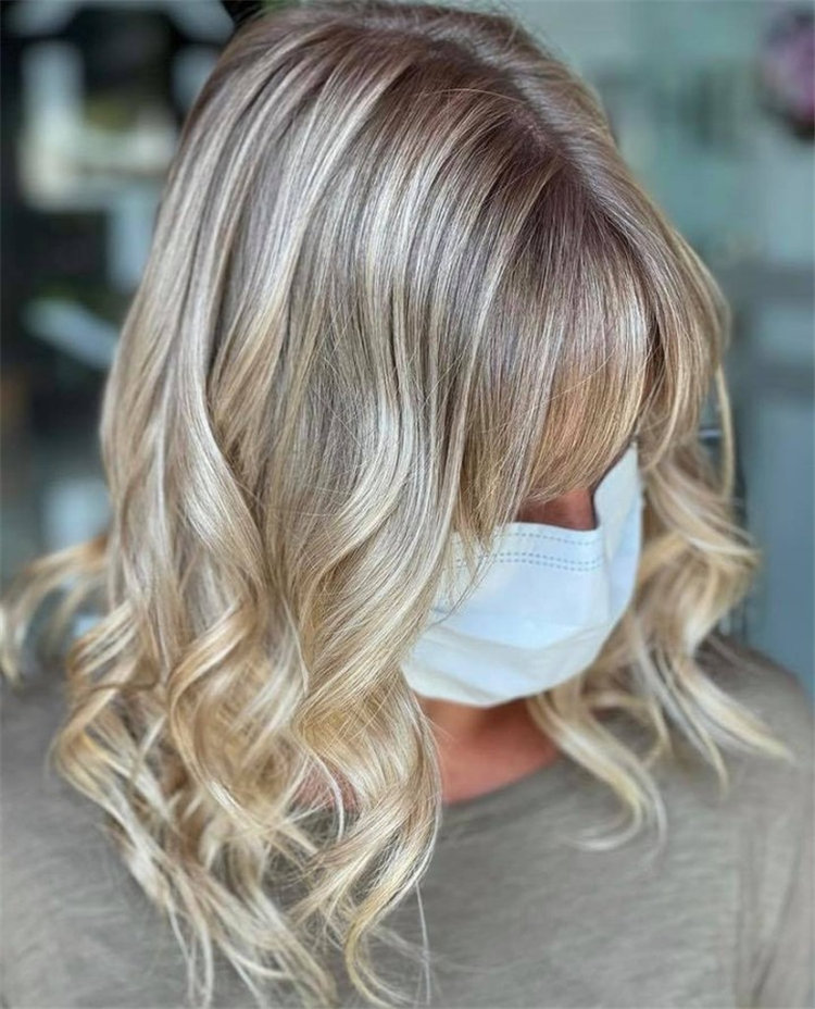 Dirty Blonde Curly Hairstyles