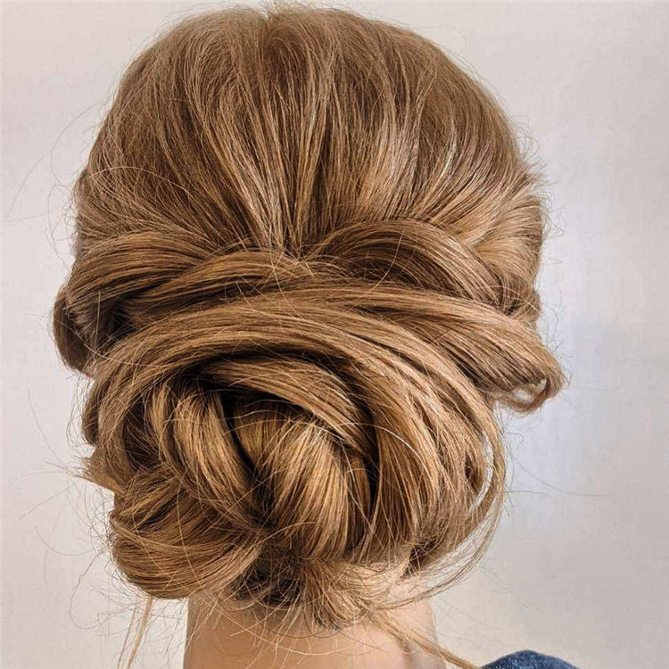 Knot Wedding Hair