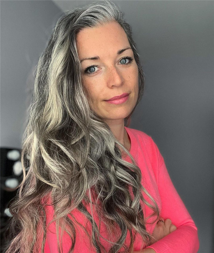 Long Grey Hair 1