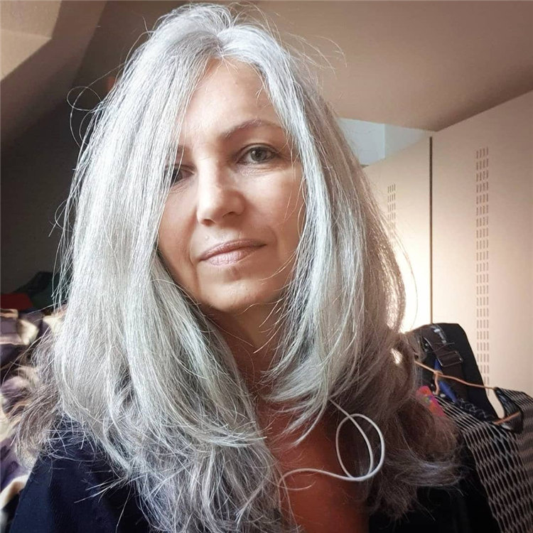 Long Grey Hair 2 1