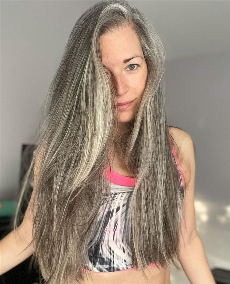 Long Grey Hair 3