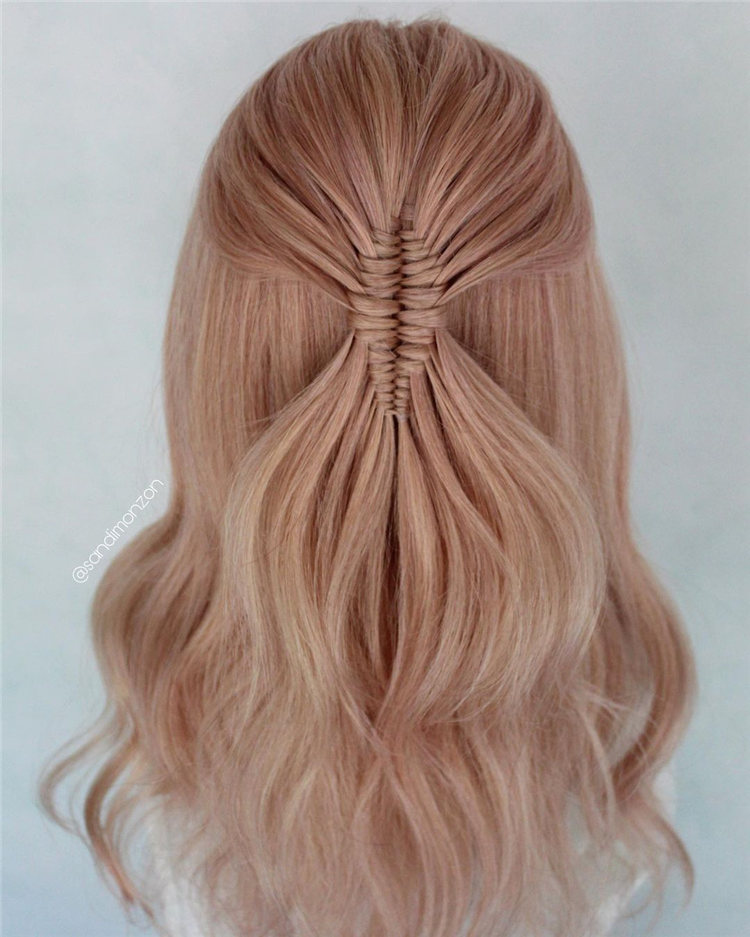 Pink Dutch Braids