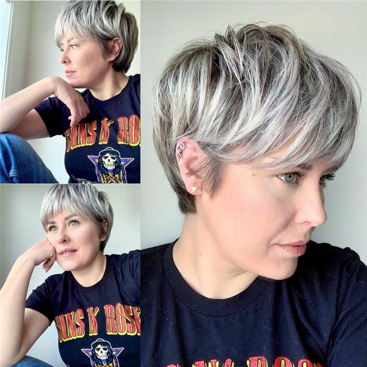 Short Pixie Haircut 1
