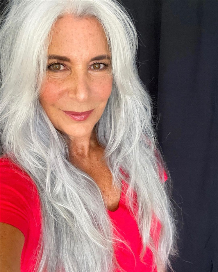 Silver Hair for Women Over 50