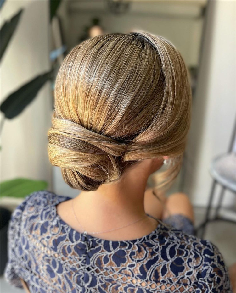 Sleek Bun Updo