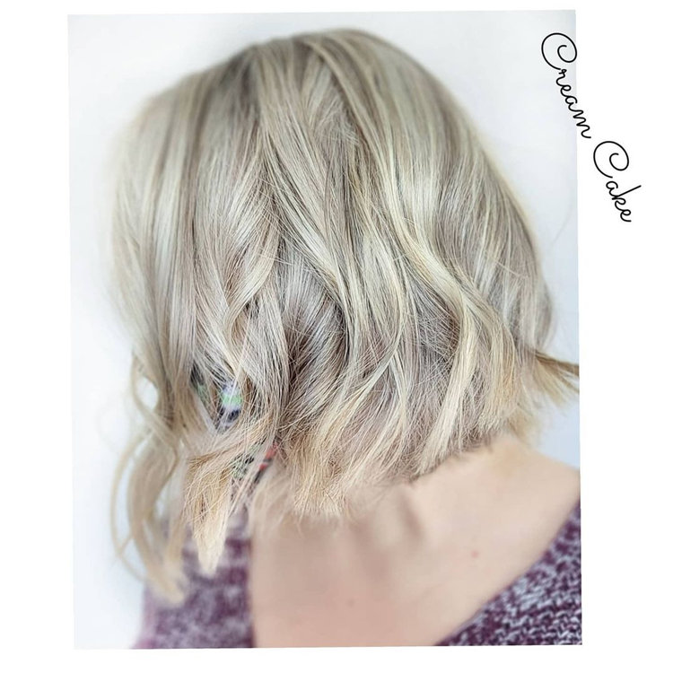 Textured Bob Beach Waves
