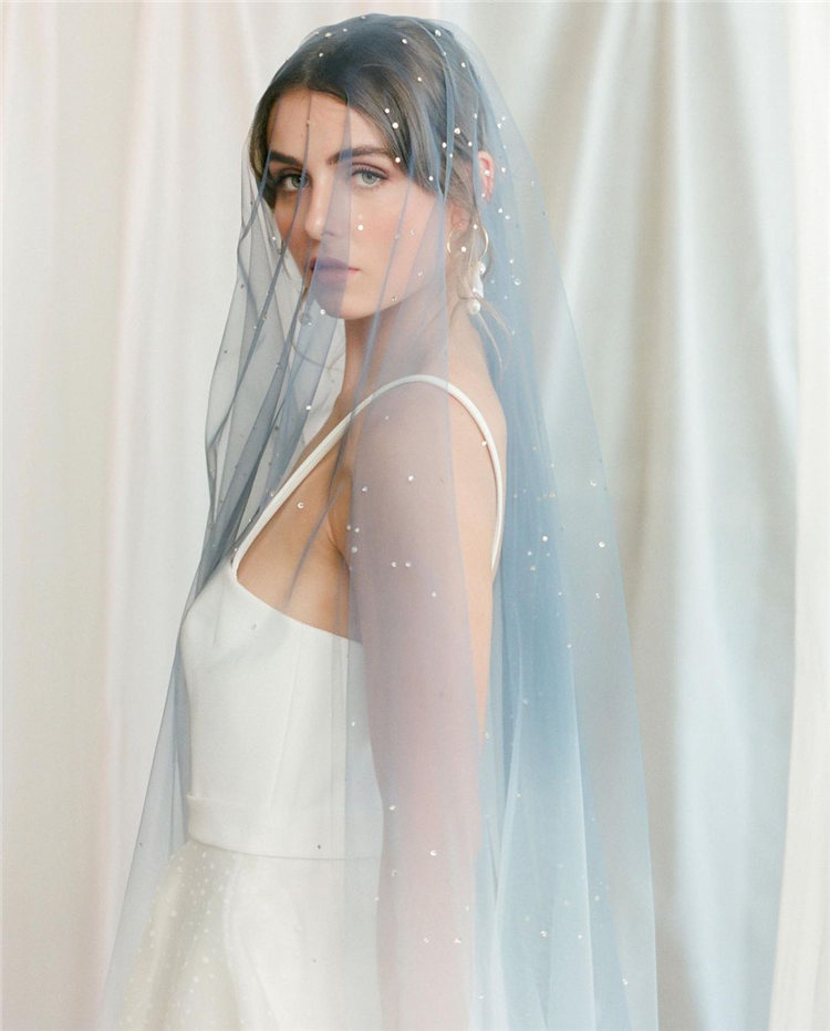 Wedding Hairstyles with Veil to Look Gorgeous for 2021 01