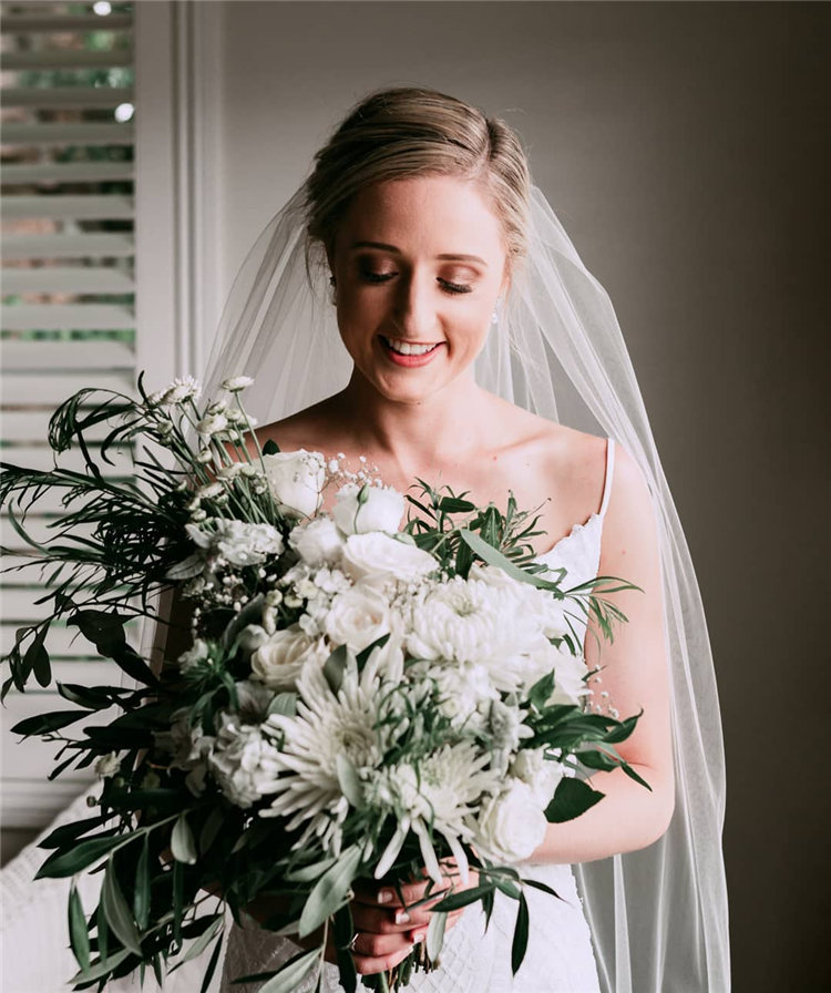 Wedding Hairstyles with Veil to Look Gorgeous for 2021 09