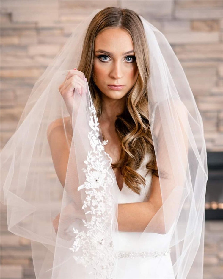 Wedding Hairstyles with Veil to Look Gorgeous for 2021 12