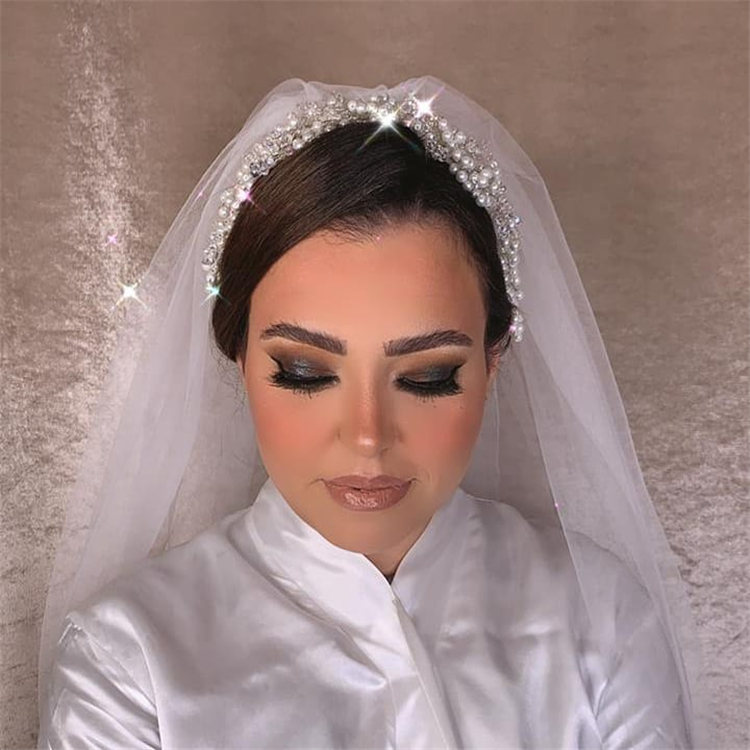 Wedding Hairstyles with Veil to Look Gorgeous for 2021 21