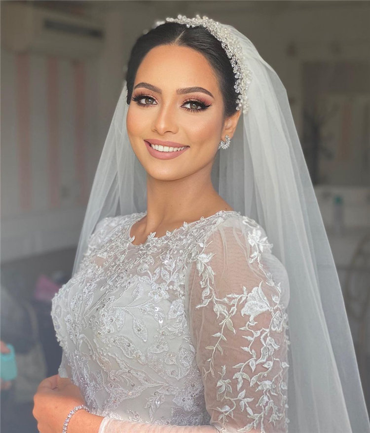 Wedding Hairstyles with Veil to Look Gorgeous for 2021 33