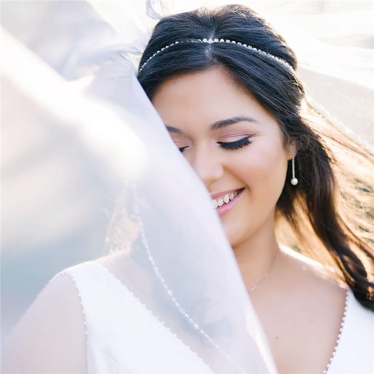 Wedding Hairstyles with Veil to Look Gorgeous for 2021 48