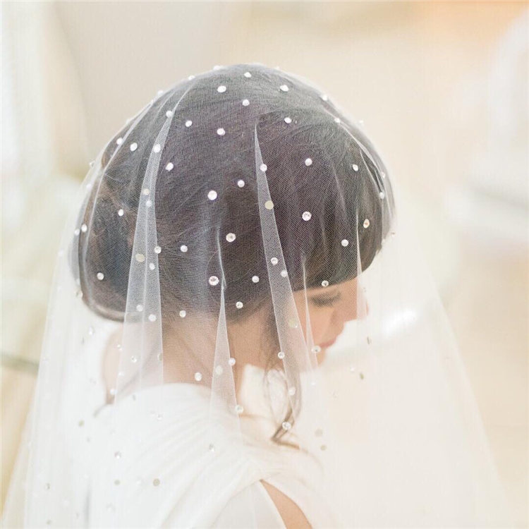 Wedding Hairstyles with Veil to Look Gorgeous for 2021 50