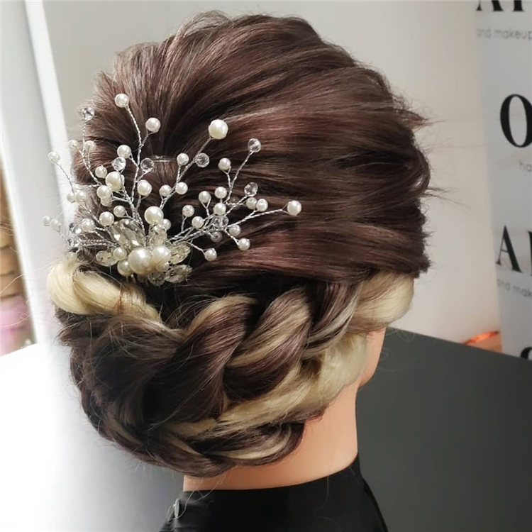 Wedding Updo 1
