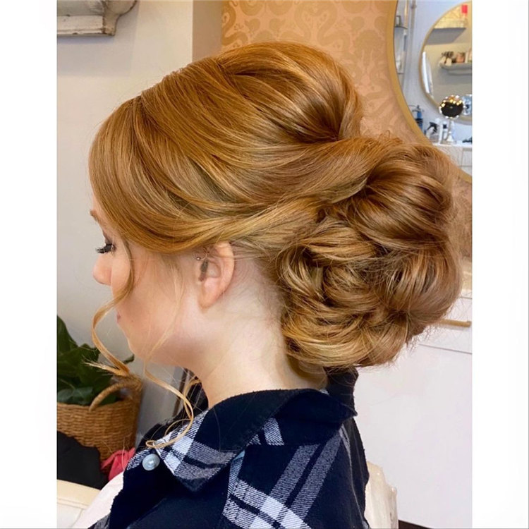 Blonde Wedding Updos
