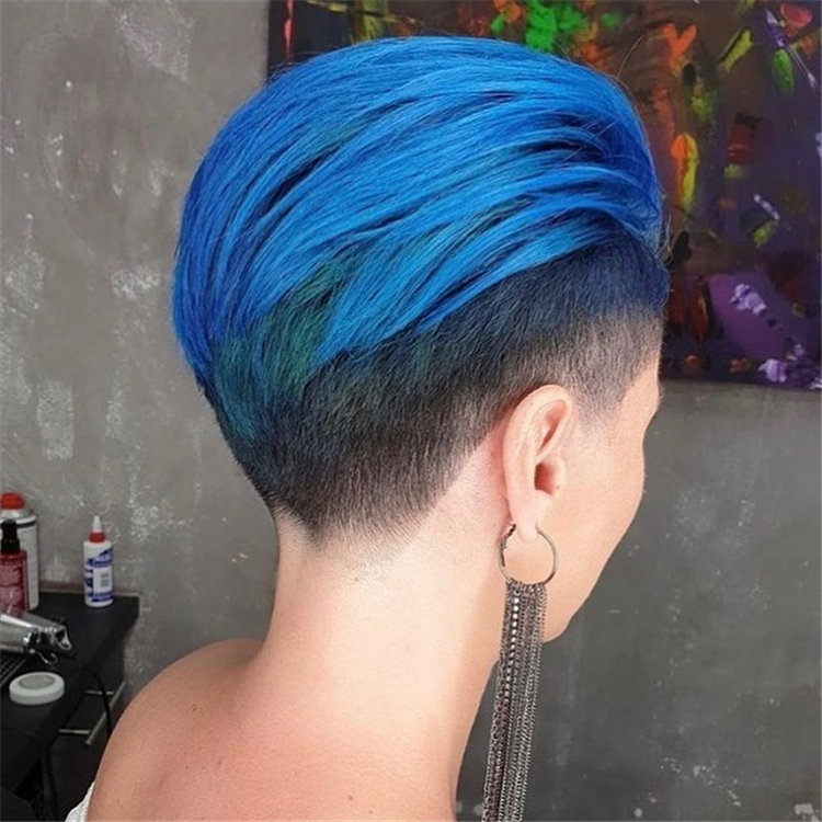 Blue with Fade