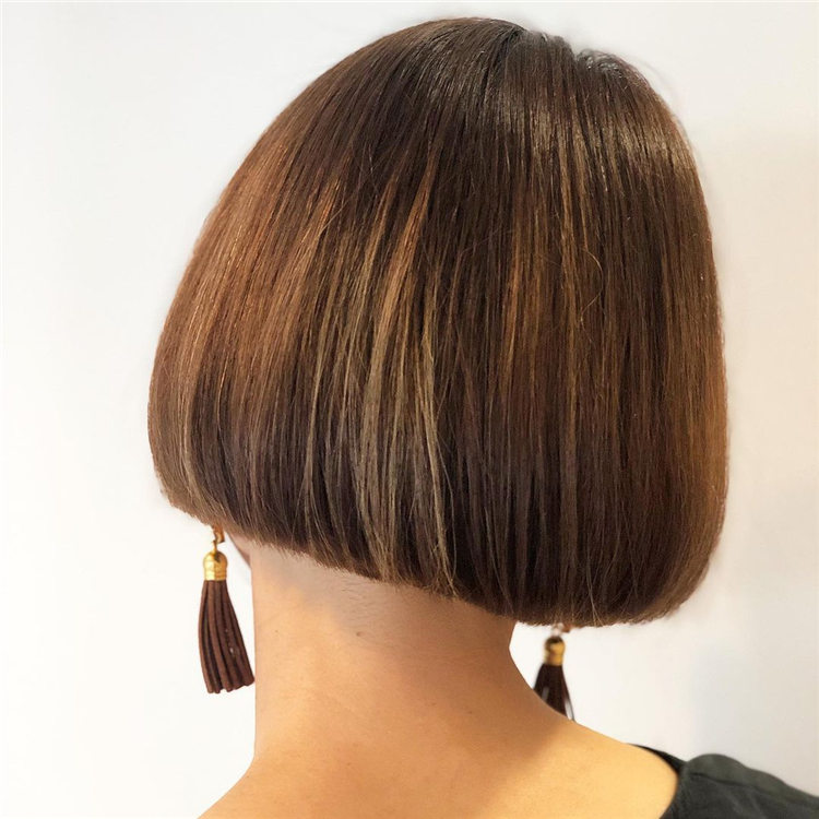 Brown Bob Hair 1