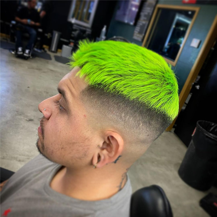 Green Mens Style
