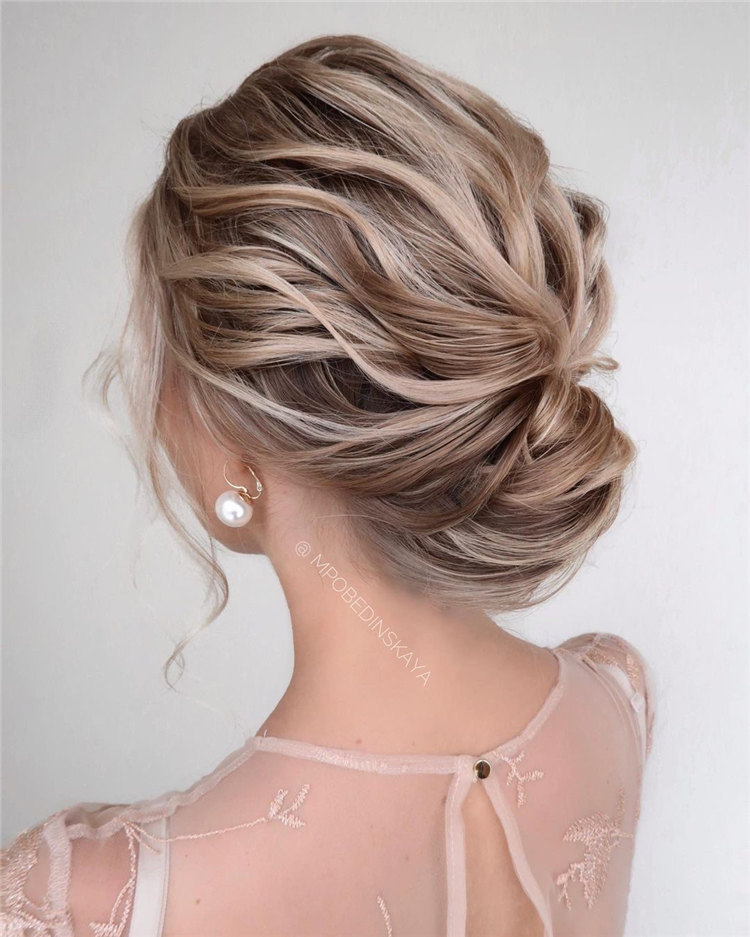 Low Updo Bun