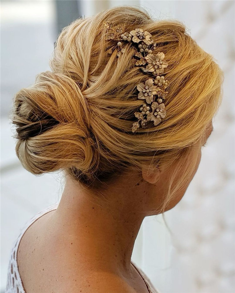 Natural Styles Wedding Updos